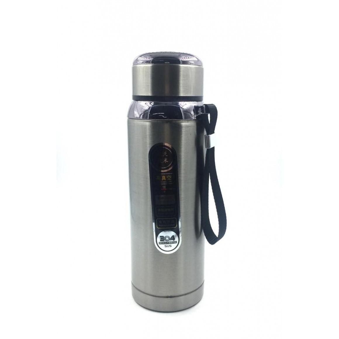 Garrafa Térmica Inox 600 Ml Resistente Chá Café Parede Dupla