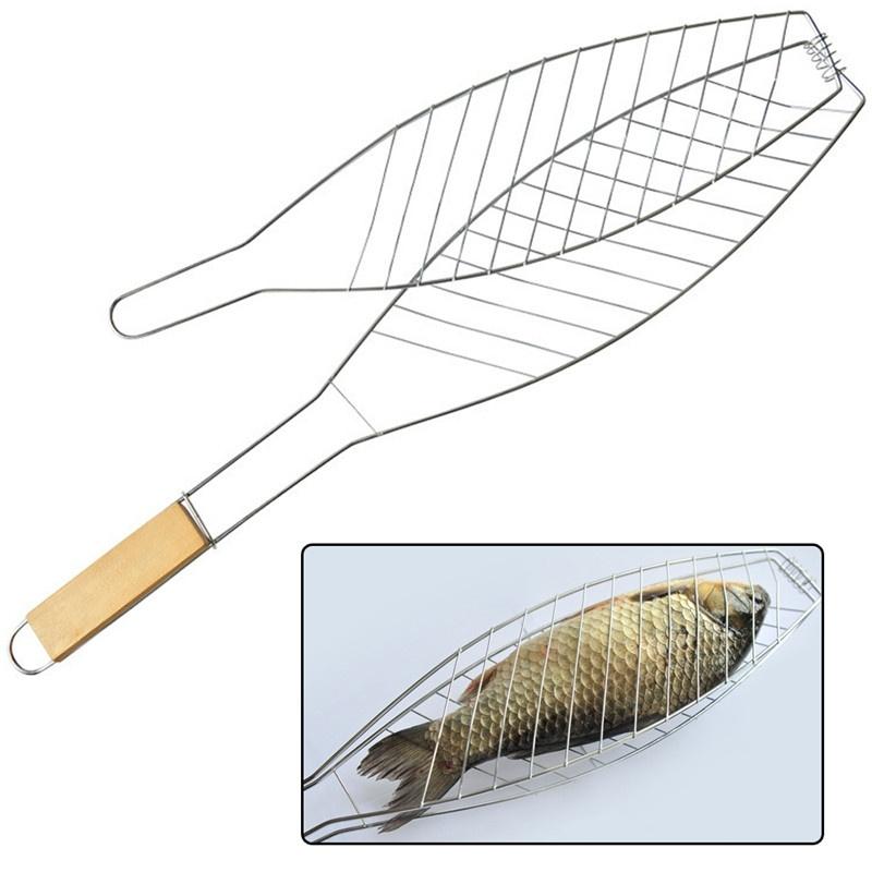 Grelha Dupla Para Churrasco Peixe Frango Linguiça 62cm
