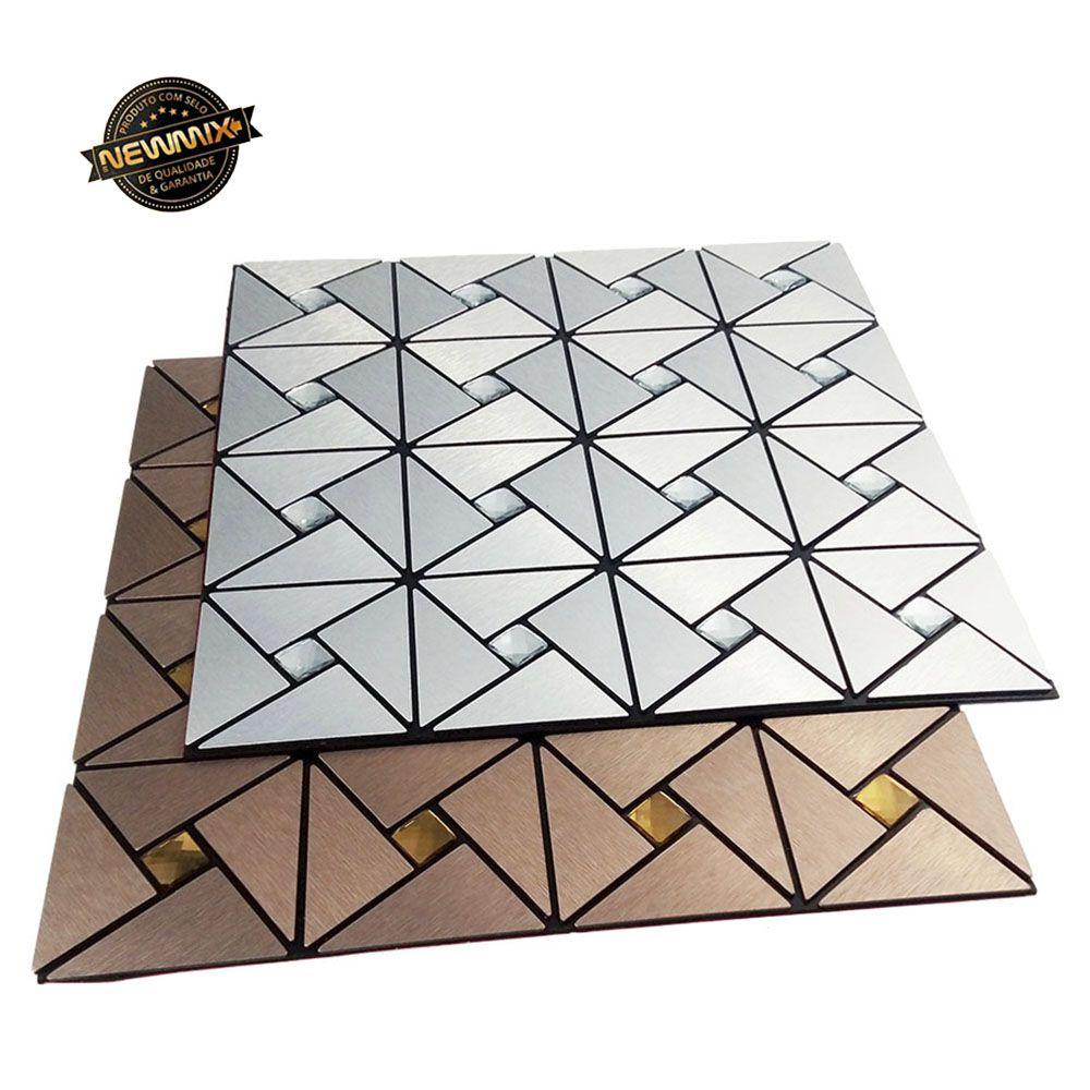 kit 10 papel de parede 3d pastilhas para cozinha sala auto adesivo