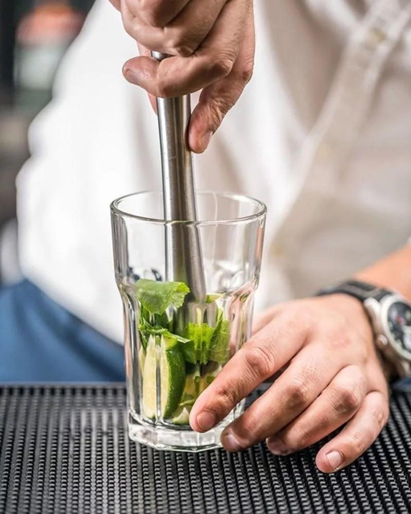 Kit Bartender Coqueteleira 750 Aço Inox E Acessórios Barman