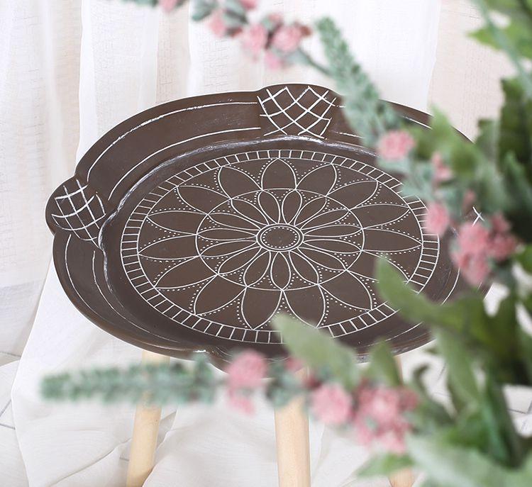 Kit Com 3 Mesa Lateral e De Canto Pé Palito Decorativa