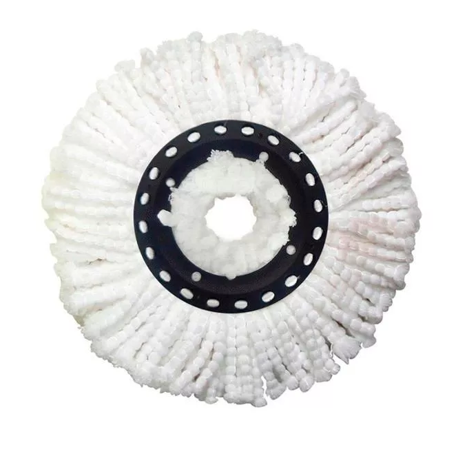 Kit Com 4 Refis de Microfibra Universal para Esfregão de Balde Mop