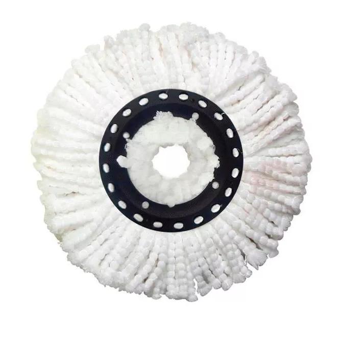 Kit Com 8 Refis de Microfibra Universal para Esfregão de Balde Mop