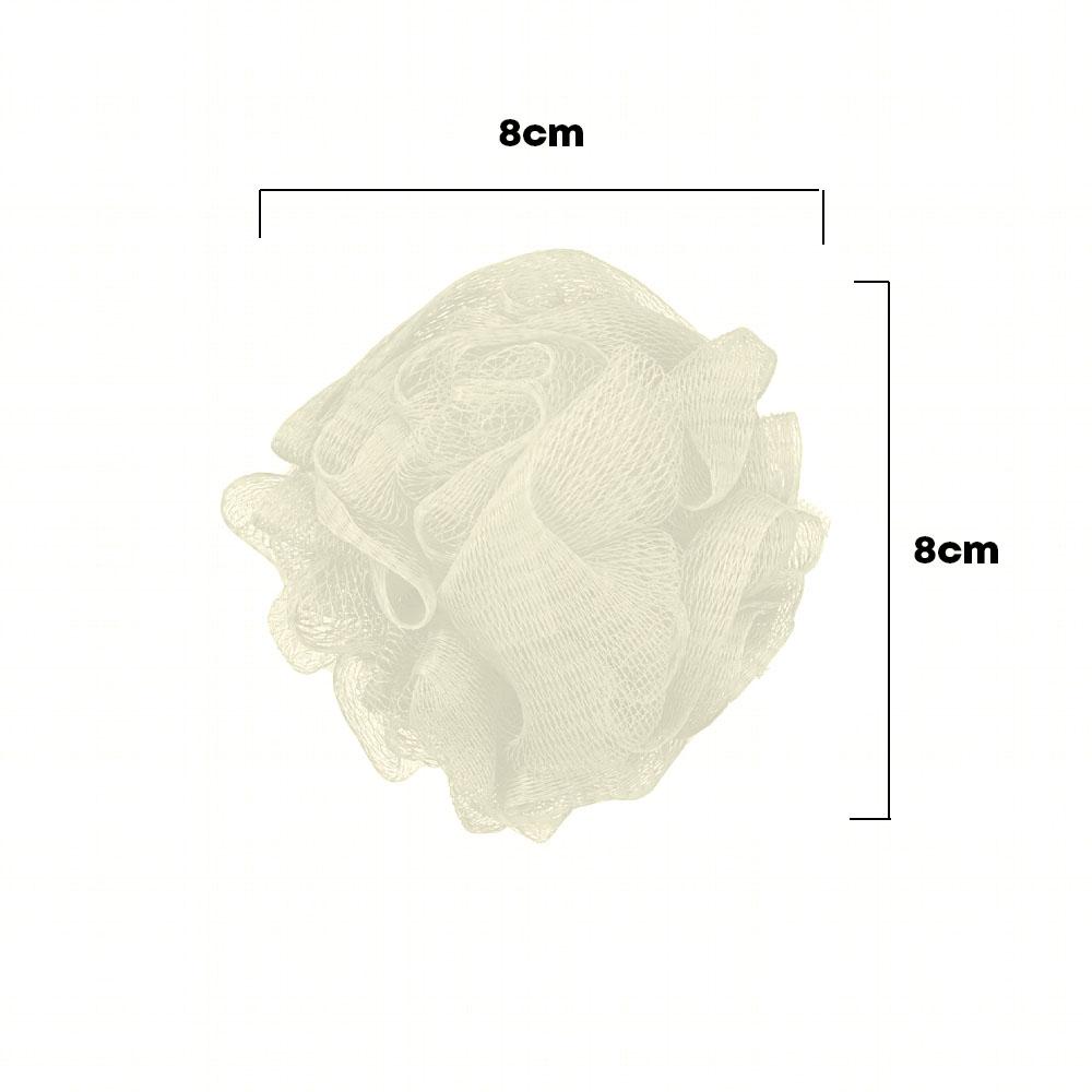 Kit para Banho com 4 peças Esponja Bucha Lixa SPA
