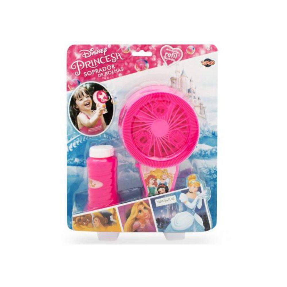 lança bolhas de sabão princesas disney a pilha com refil