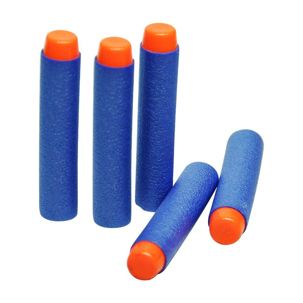 lançador super shot pistola de dardos e água 2 em 1- azul