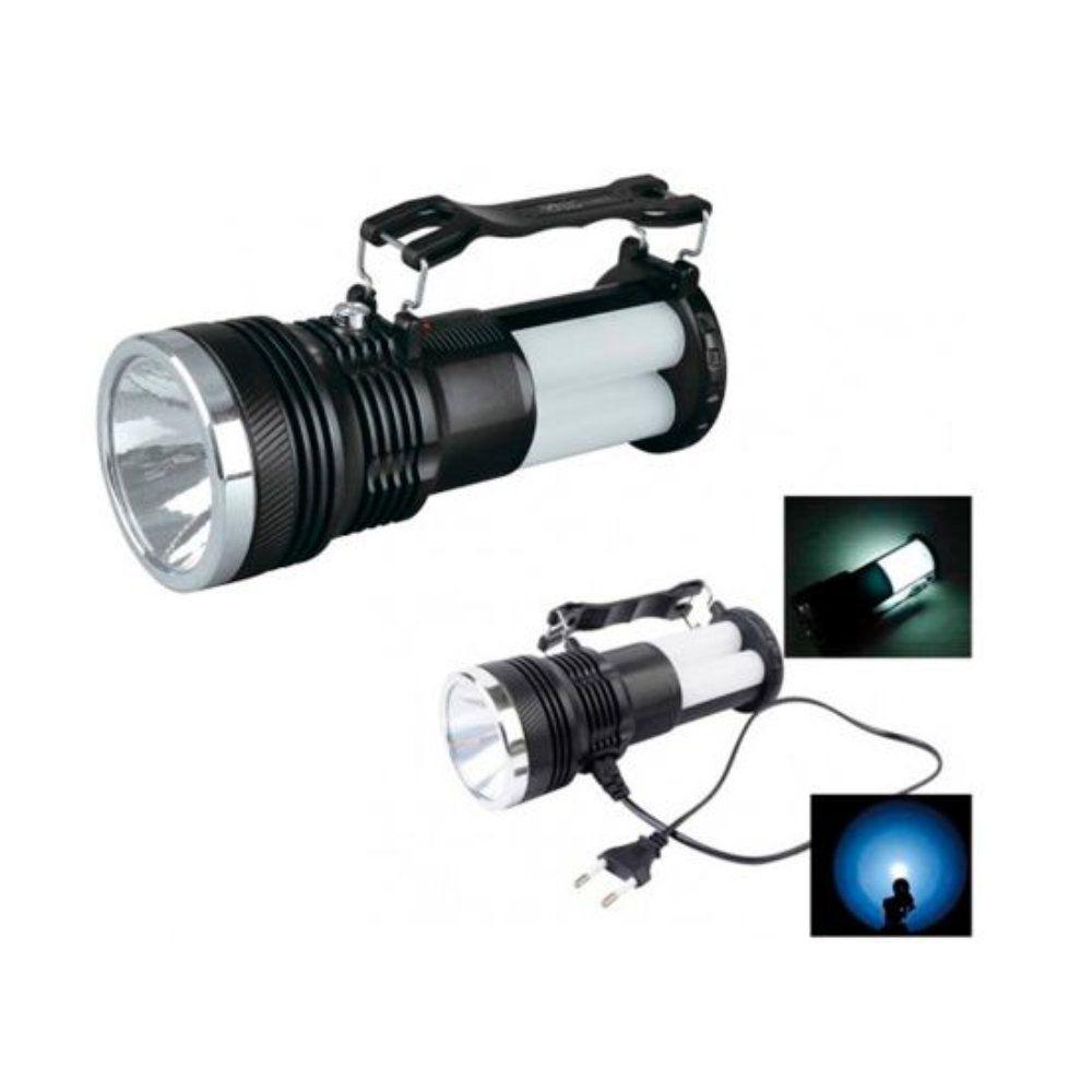 lanterna e lampião led recarregável a energia solar com alça