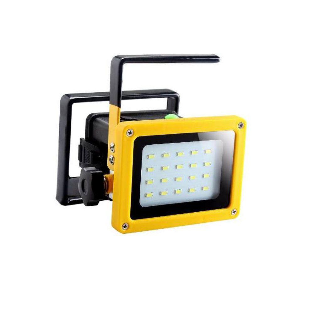 lanterna refletor led holofote portátil 2400 lúmens 30w