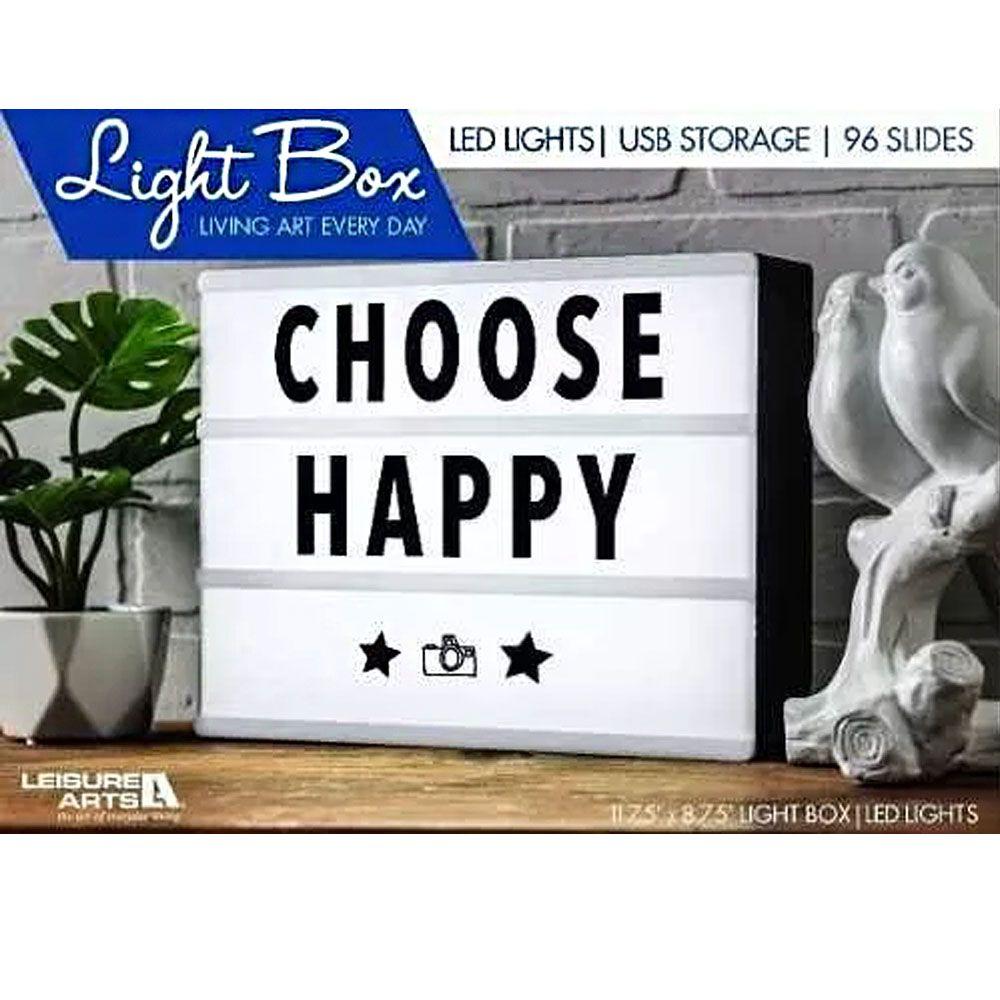 Letreiro Quadro Led Light Box Painel Cinema A4 96 Letras