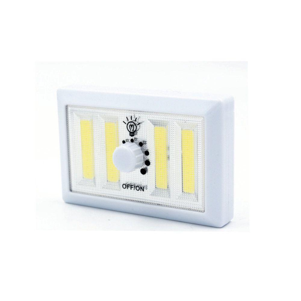 luminária de emergencial regulável com 4 led compacta