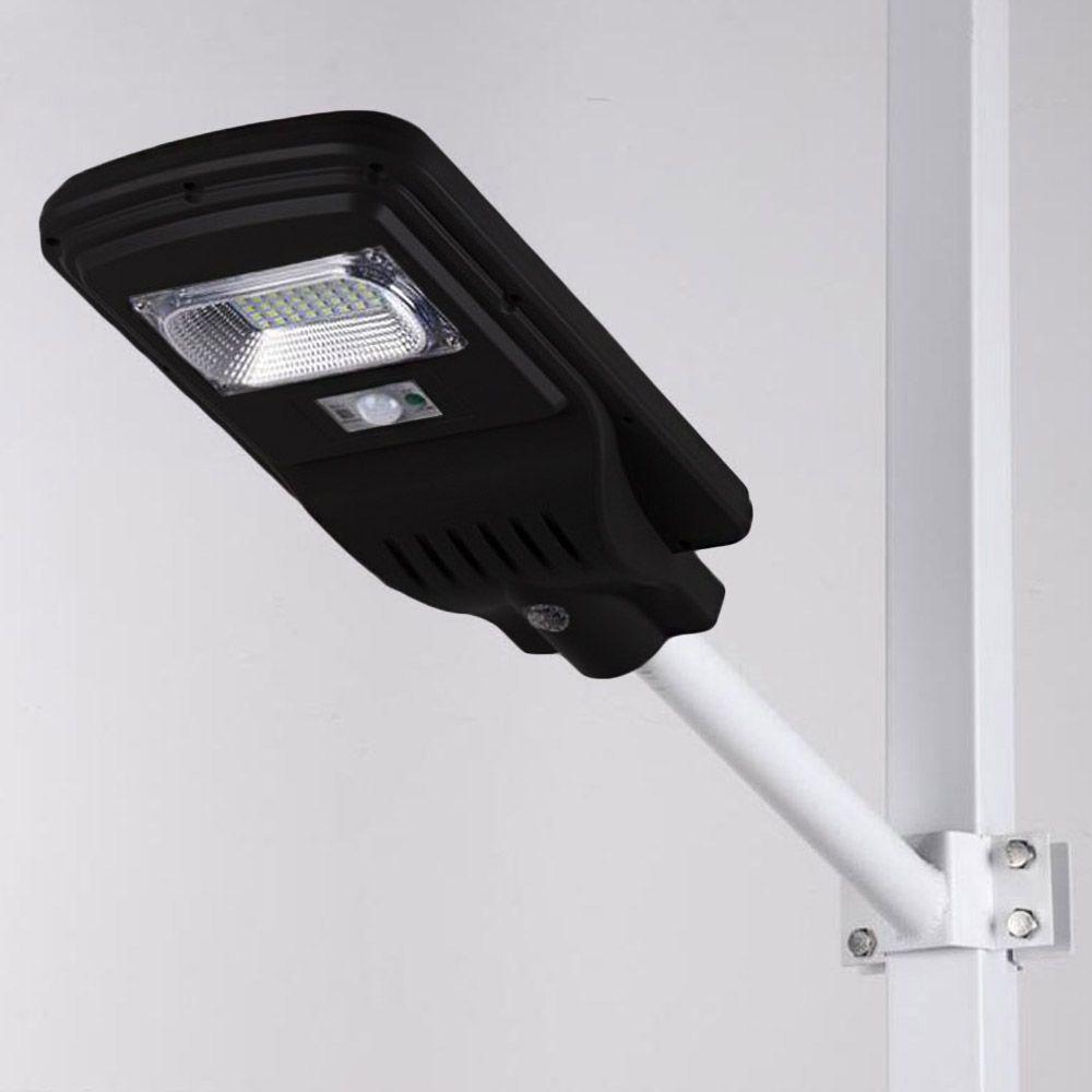 luminária refletor 20w poste pública led com controle remoto
