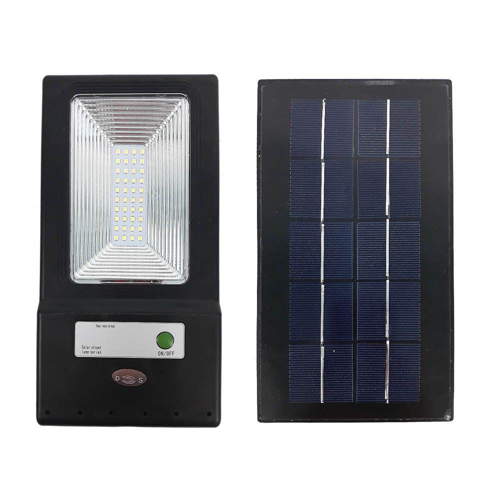 luminária refletor solar poste pública leds branco frio 20 w