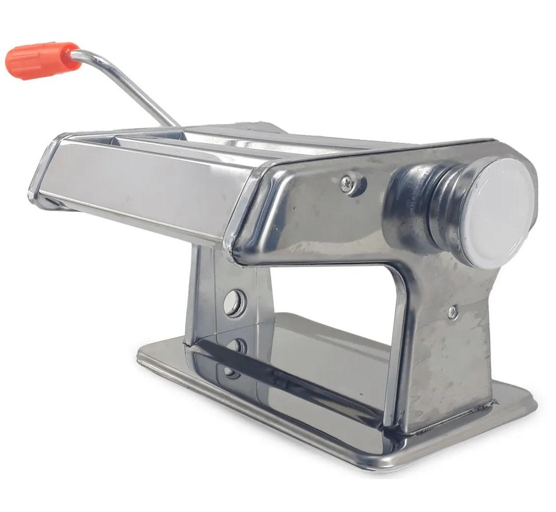 Máquina De Macarrão Aço Inox Massa Caseira Talharim Lasanha