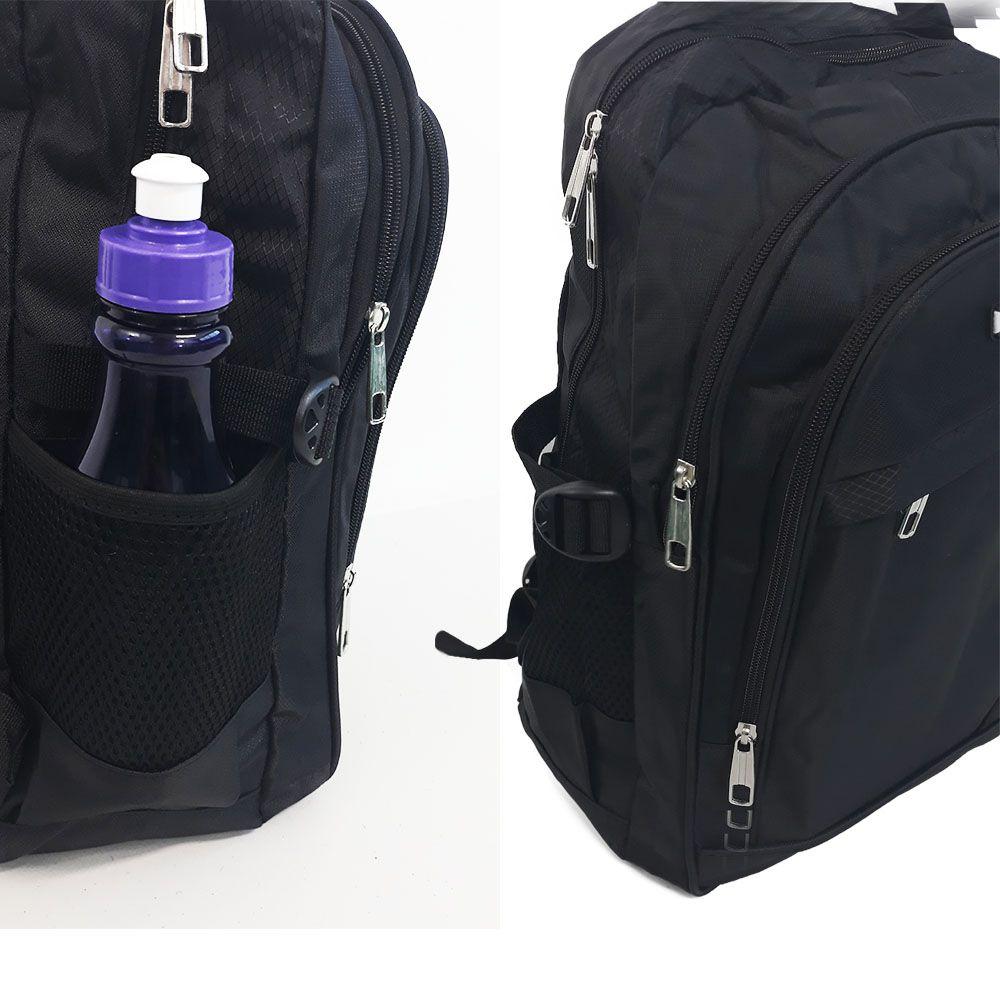 mochila masculina executiva resistente bolso para notebook