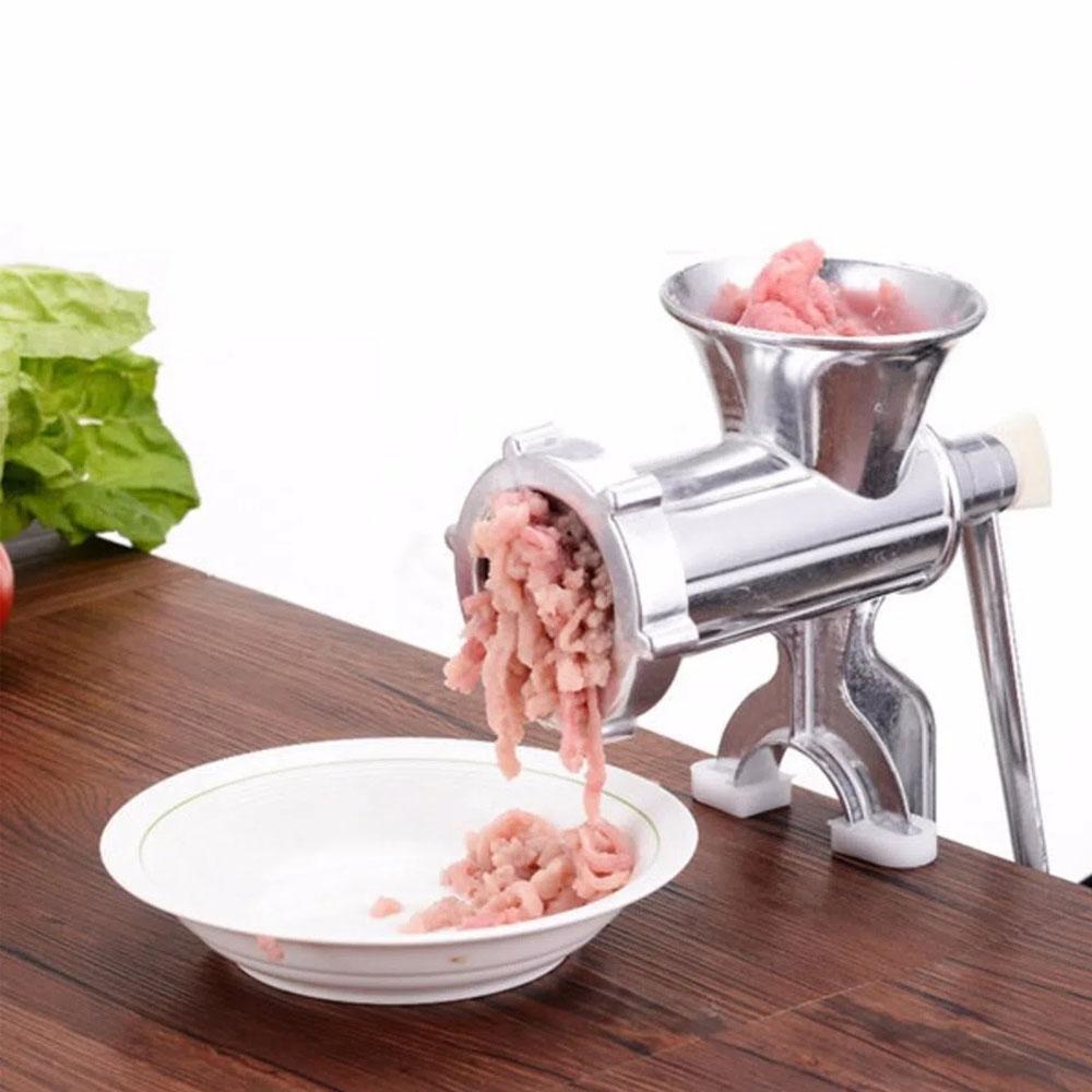 Moedor De Carne Manual Maquina Número 8 funil Linguiça