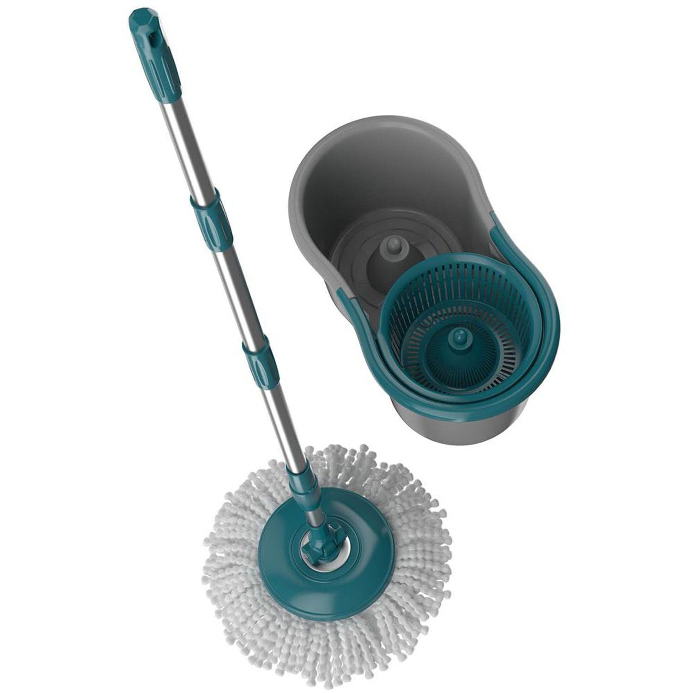 Mop Giratório Fit Spin Esfregão 360 Flash Limp Original