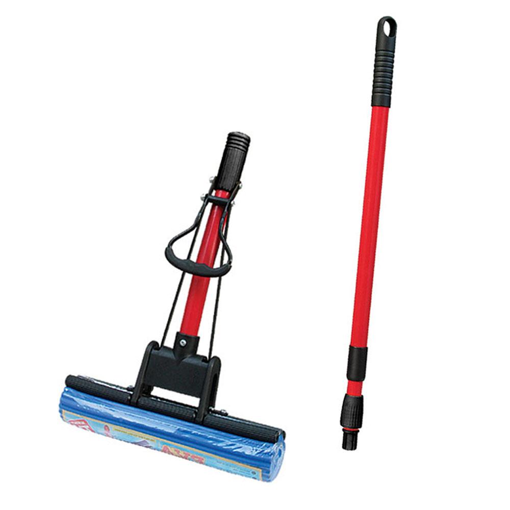 Mop Rodo Mágico Limpeza Geral Cabo extensível alta absorção
