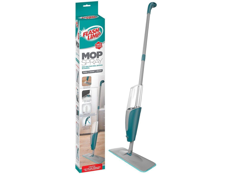 Mop Spray Rodo Esfregão 1.29m Reservatorio 400ml Flash limp