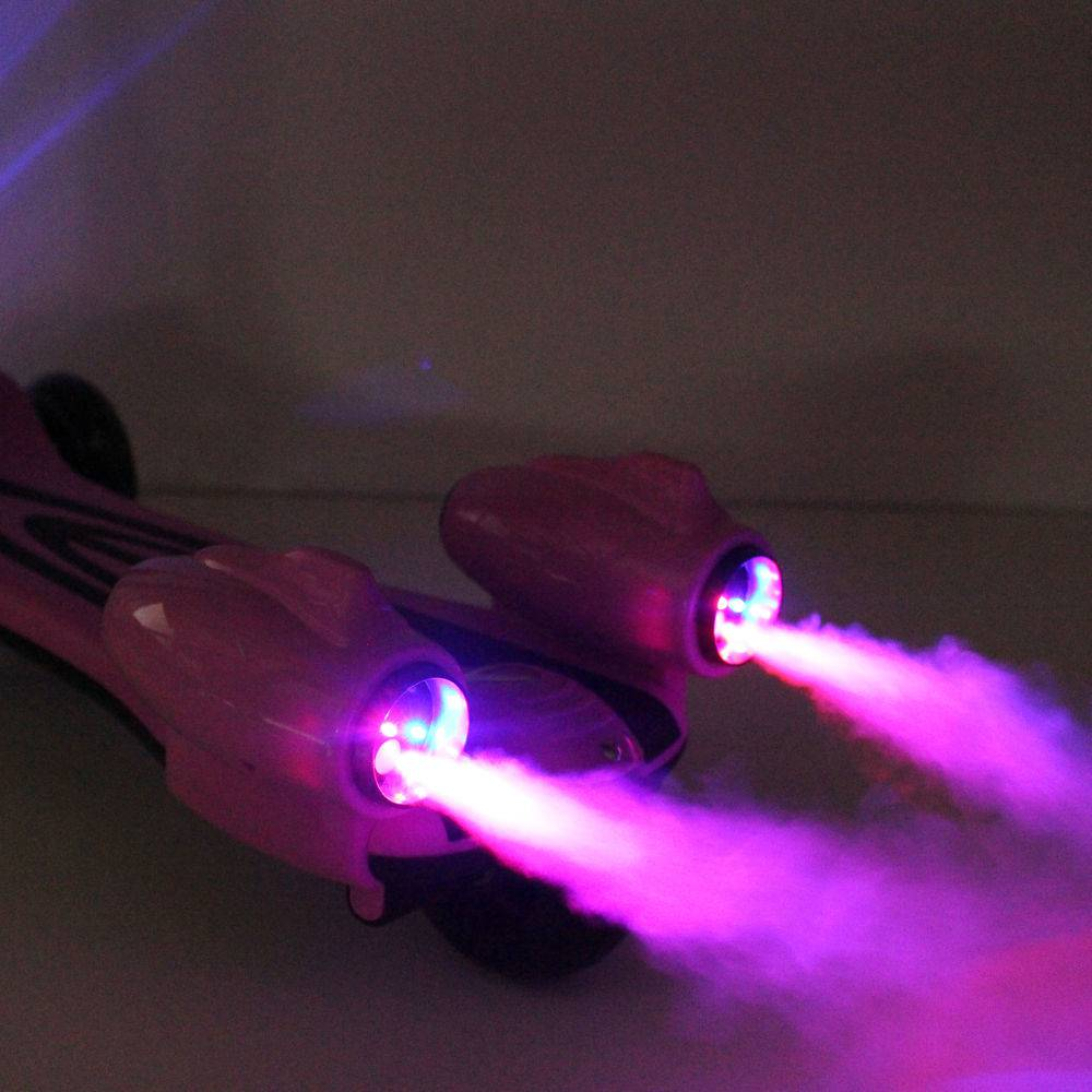 Patinete Infantil Turbo Radical Azul Com Luzes E Som DM TOYS