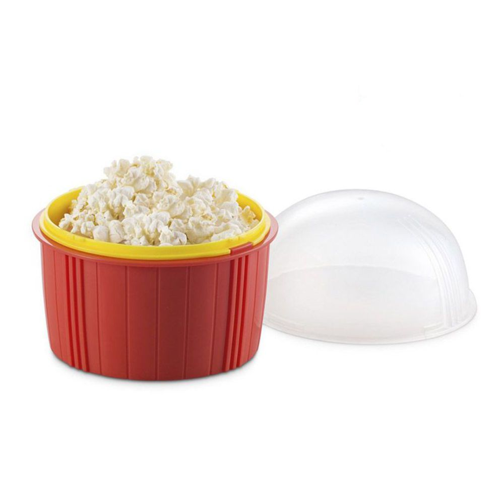 pipoqueira de microondas pipoca fácil magic kidchen - dtc