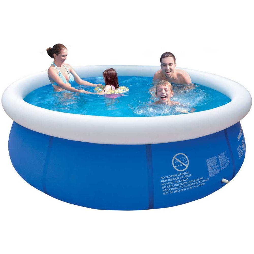 piscina inflável com capacidade para 1000 litros resistente