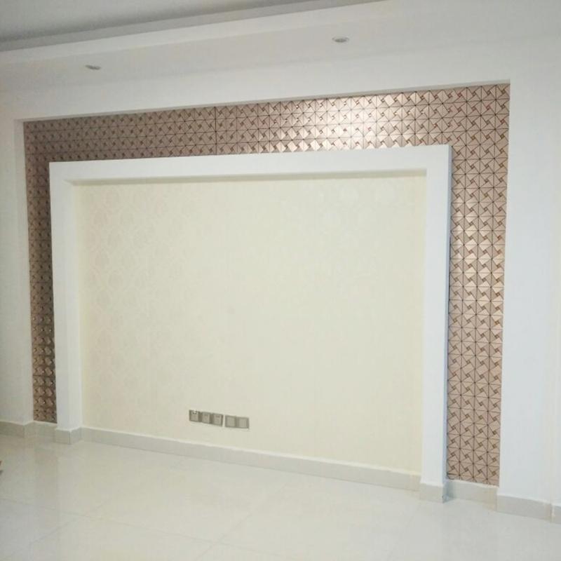 Placa Pastilha Parede Autoadesivo Decorativa 30cm x 30cm