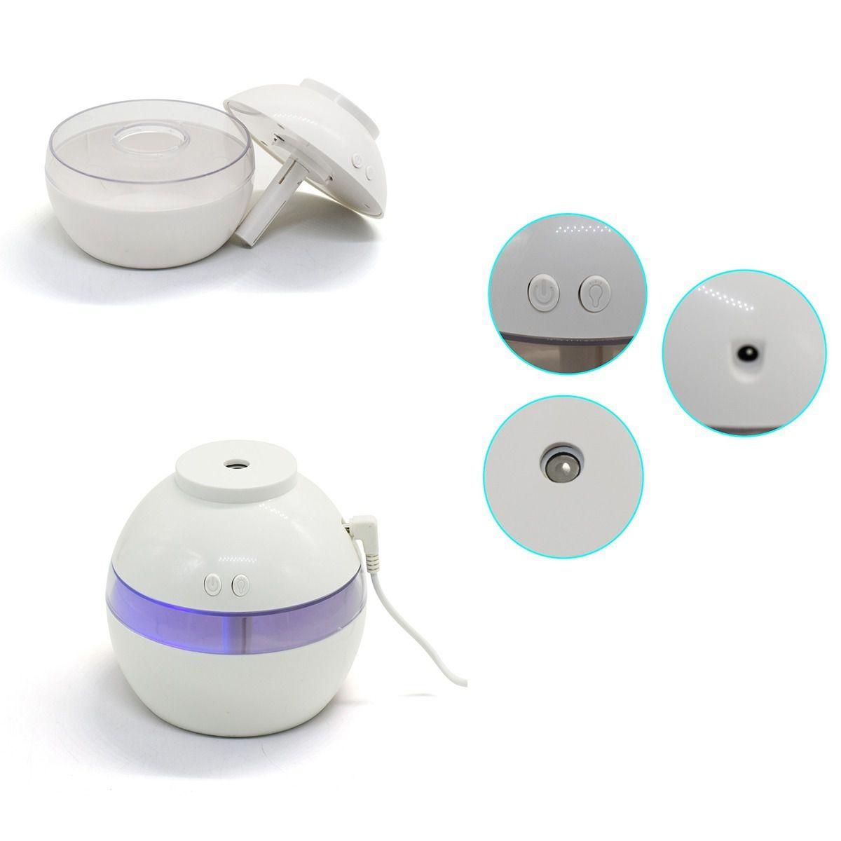 Pulverizador Aromatizador Umidificador Usb Ultrassônico