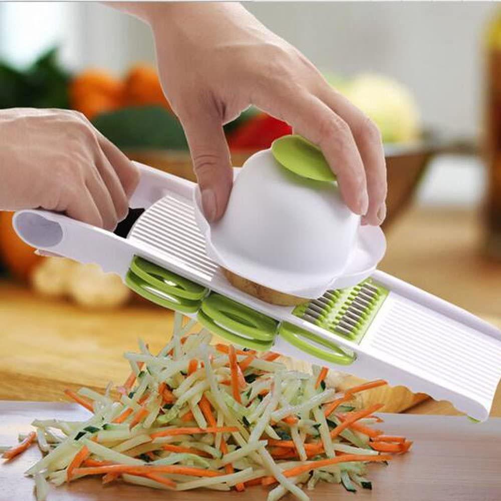 Ralador Multi Cortador Legumes Frutas Fatiador Com Protetor