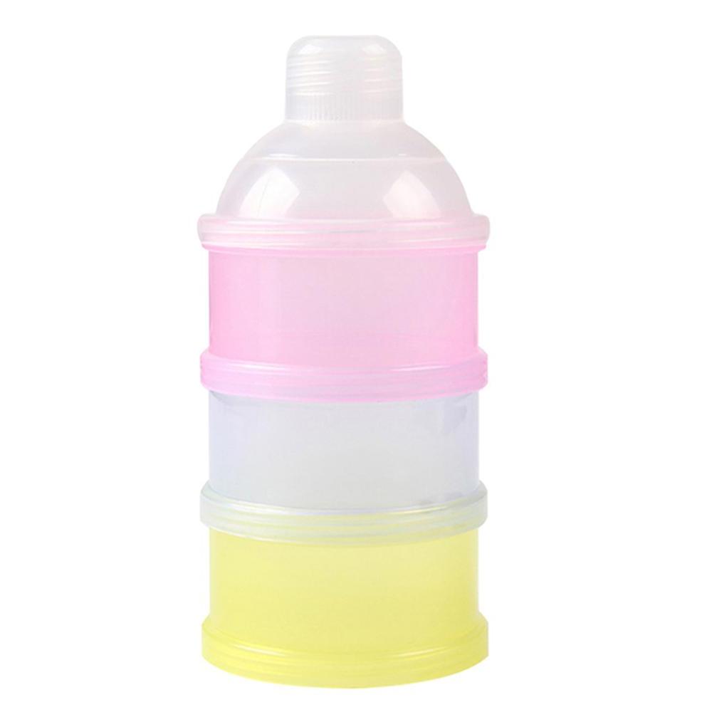 Recipiente Porta Leite Em Po Alimentos Portatil Para Bebe
