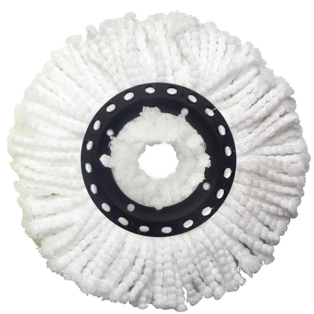 Refil de Microfibra Universal para Balde Spin Mop Esfregão