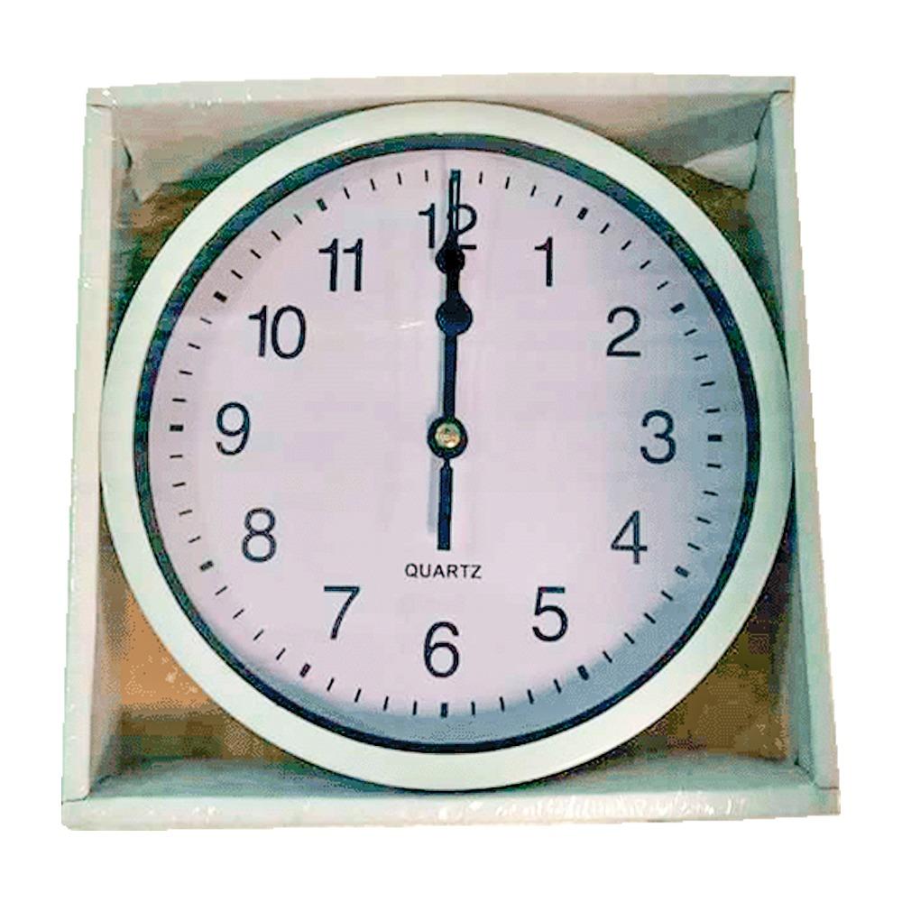 Relógio de Parede Analogico 16 cm Elegante e Moderno