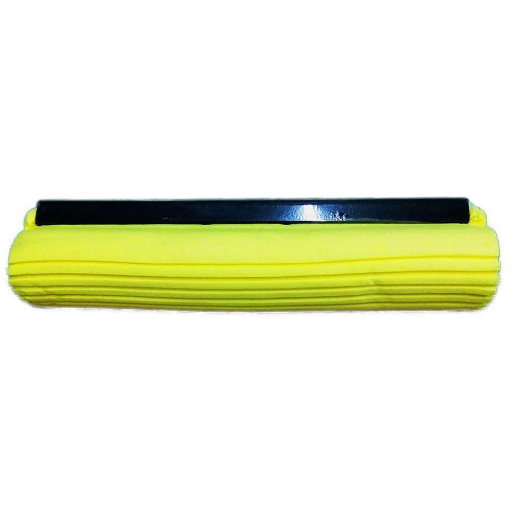 rodo mágico vassoura esfregão absorvente cabo inox + 1 refil