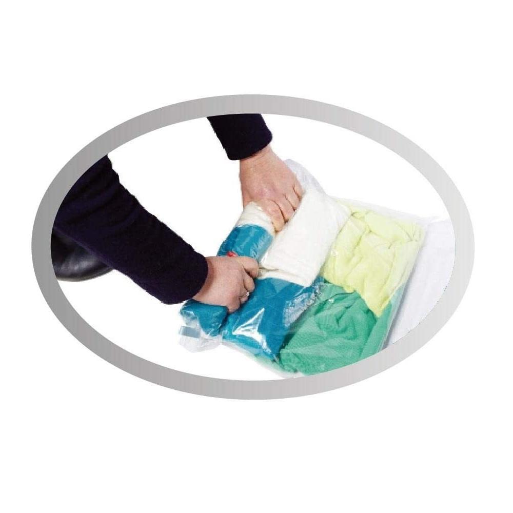 Saco Plástico A Vácuo Organizar Roupas Edredom 50x60cm