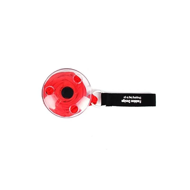 Sacola Bolsa de compras RollUp Portátil Enrolar Reutilizável