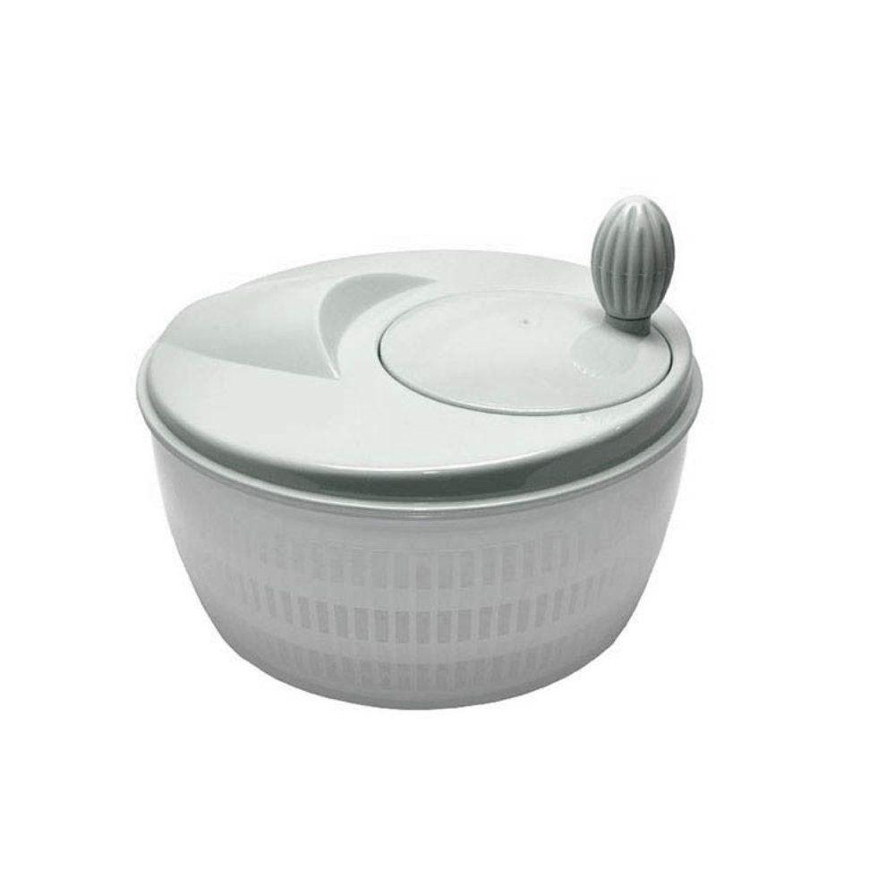 seca saladas manual centrifuga secadora - cinza