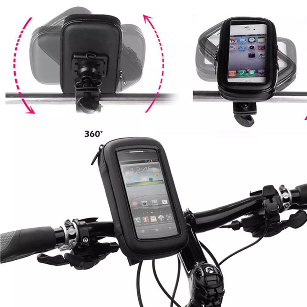 Suporte Capa Celular Moto Gps Bike À Prova D'água