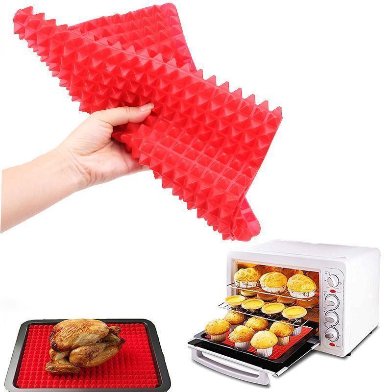 Tapete Culinário Silicone Para Forno Churrasco Microondas