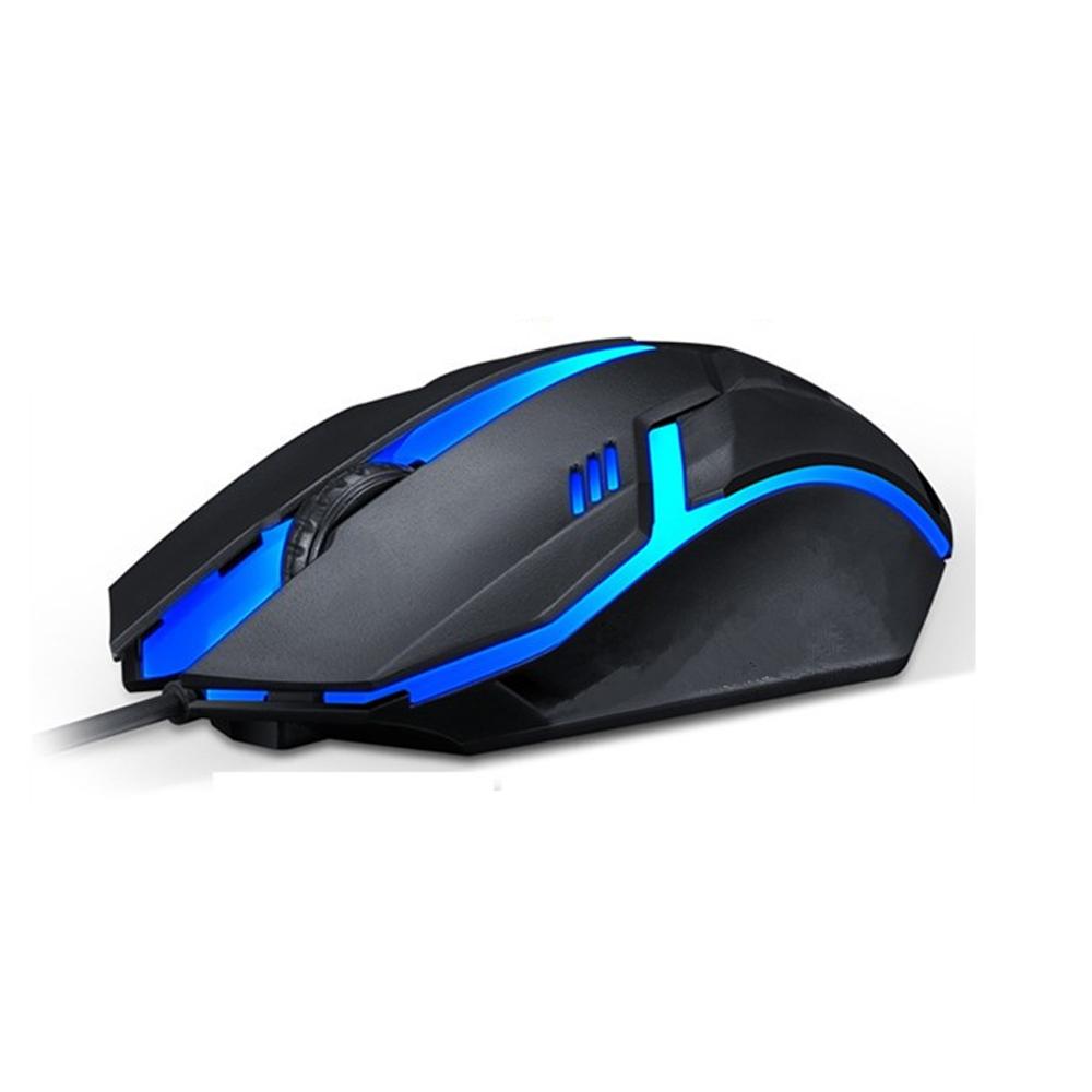 Teclado Retroiluminado K200 com Mouse Gamer Led 1000 Gamer