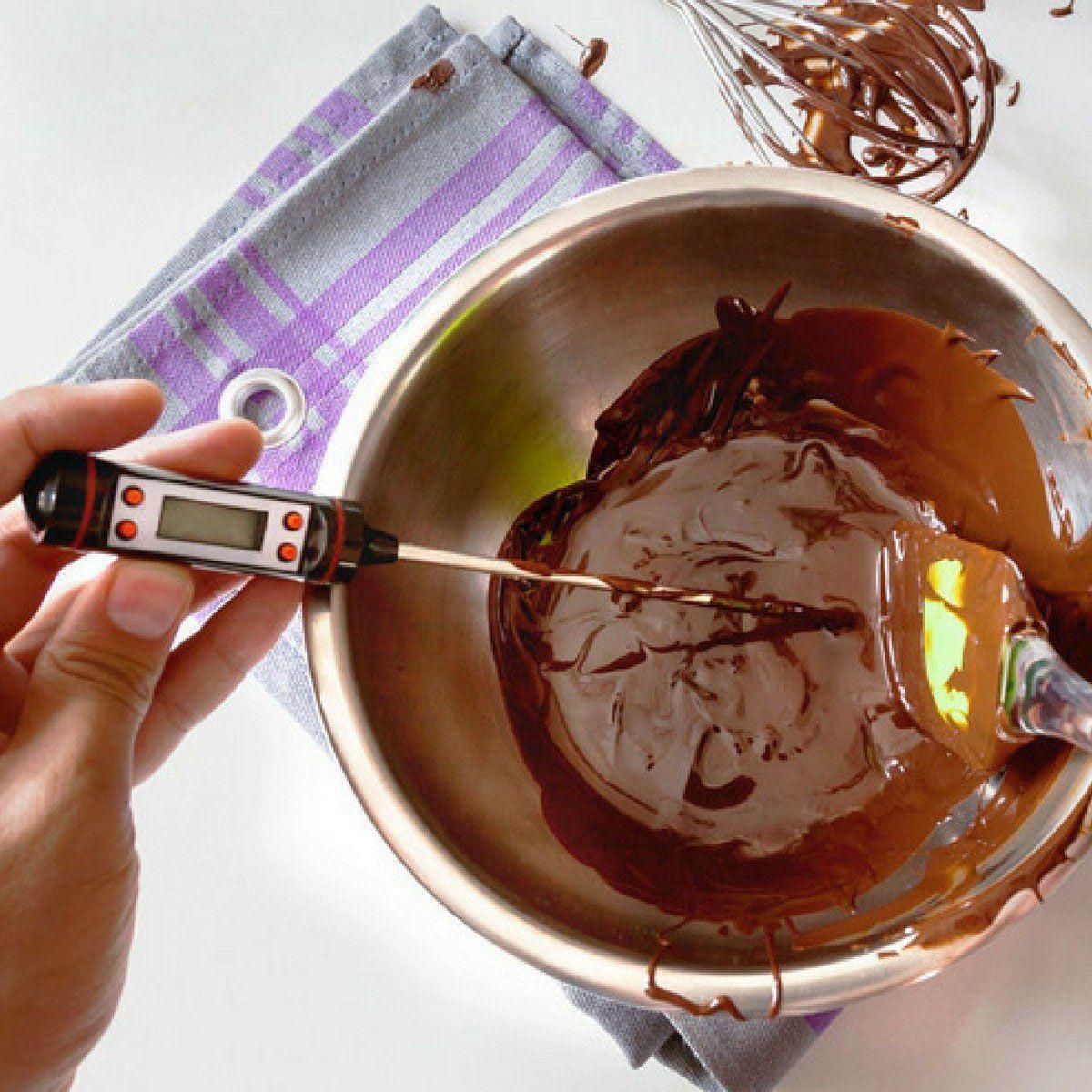 Termômetro Culinário Digital Espeto Alimento Cozinha