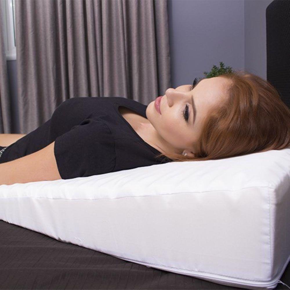 travesseiro anti-refluxo rampa terapêutica adulto