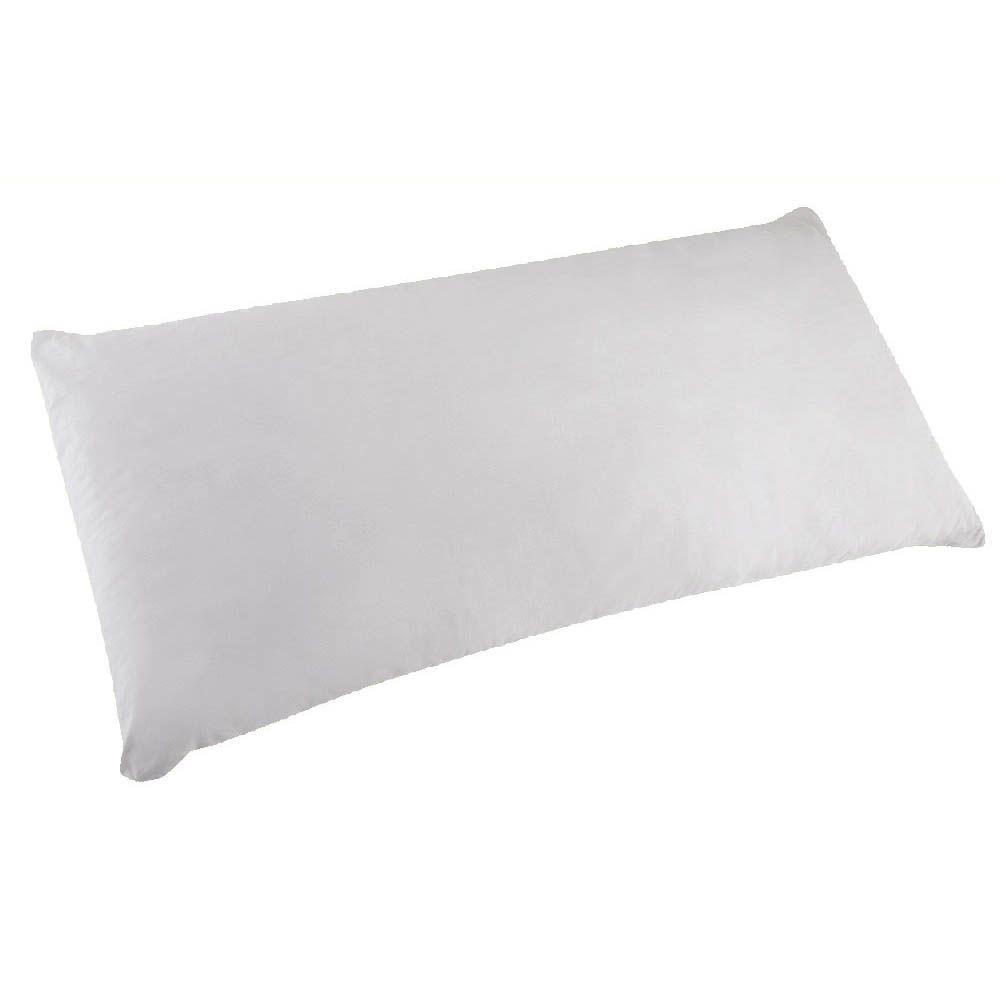 travesseiro para joelho e tornozelo em fibras siliconizada