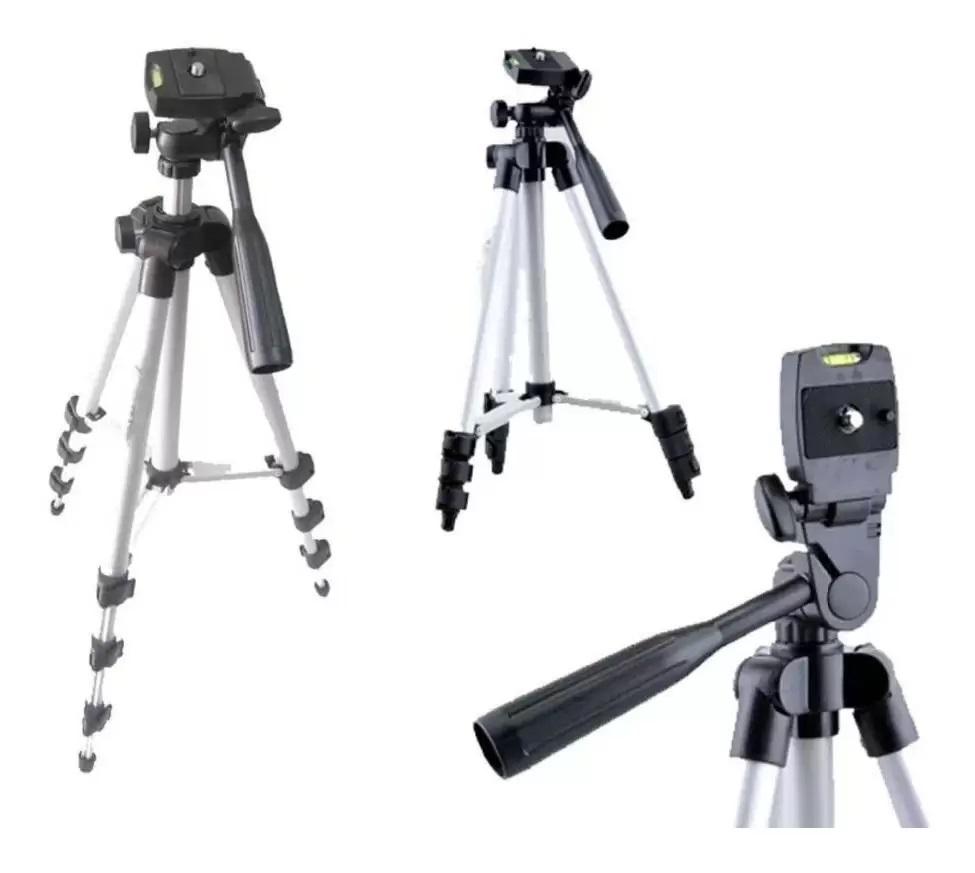 Tripé Universal Telescópico 1,02M Para Celular E Câmera