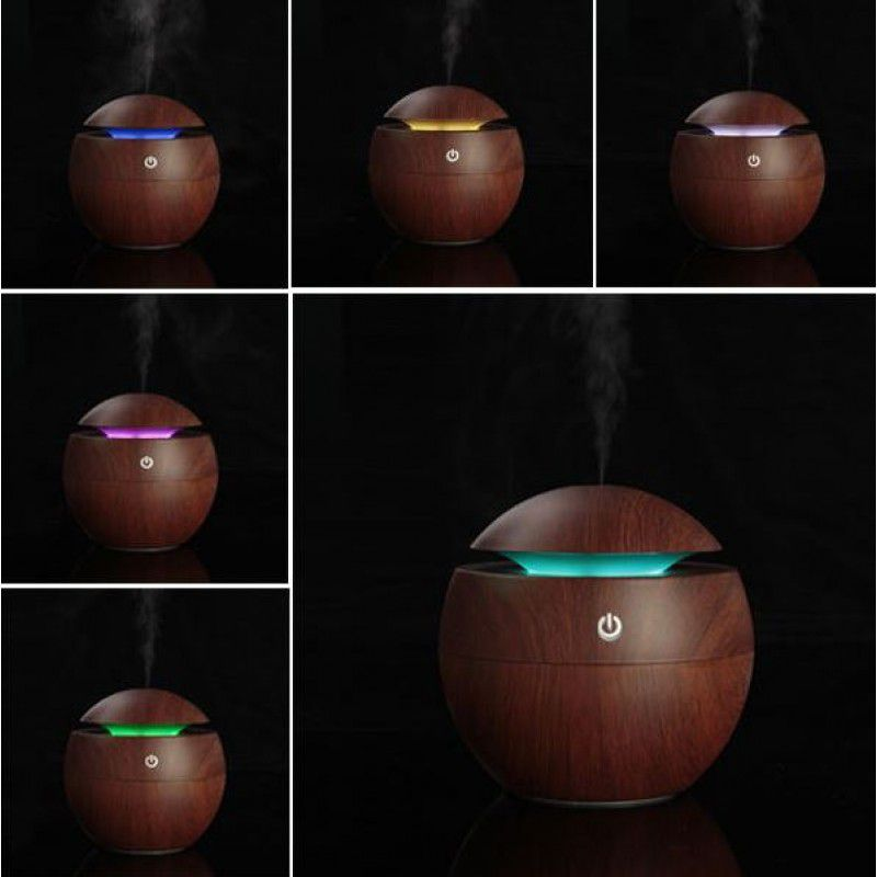 Umidificador de ar Ultrassônico e difusor De Aroma Com Luzes LED