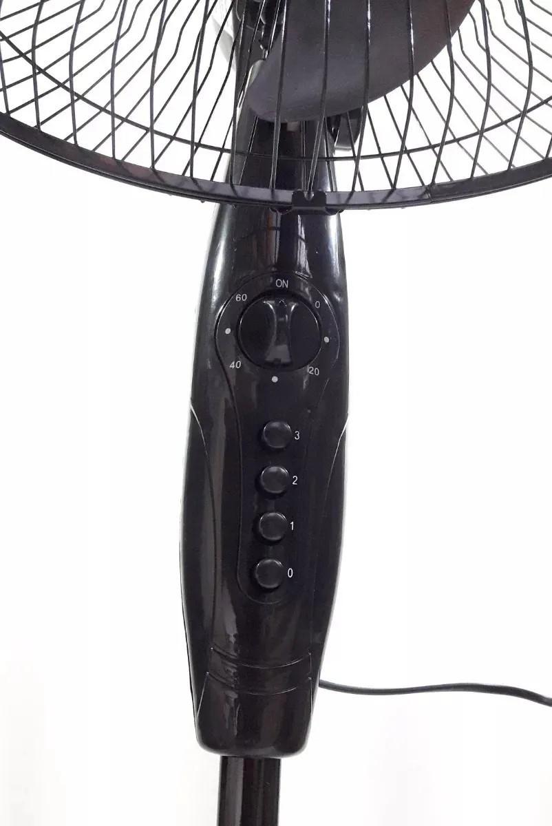 Ventilador de coluna 40cm Preto Pedestal 127V com Timer
