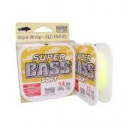 Linha Monofilamento MarineSports Super Bass Soft 250m Amarela