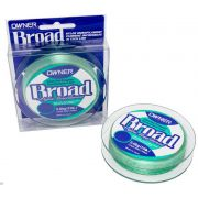 Linha Monofilamento Owner Broad 0,18mm - 7Lbs - 300m