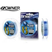 Linha Monofilamento Owner Broad Blue Eye 0,20mm - 9Lbs - 300m