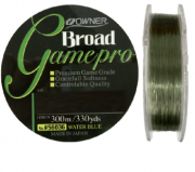 Linha Monofilamento Owner Game Pro 0,34mm - Lbs - 300m verde