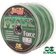Linha Multifilamento Maruri Max Force Pe 4X - 300m Continuo