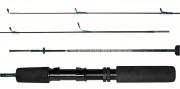 Vara Molinete Albatroz Micromaster 1,20m 4-8lbs 2Partes - Fibra Maciça